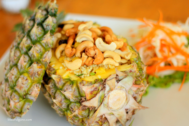 Baked Rice With Pineapple Thailand