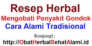 Resep herbal mengobati penyakit gondok cara alami tradisional