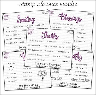 Stamp/Die Duos Bundle