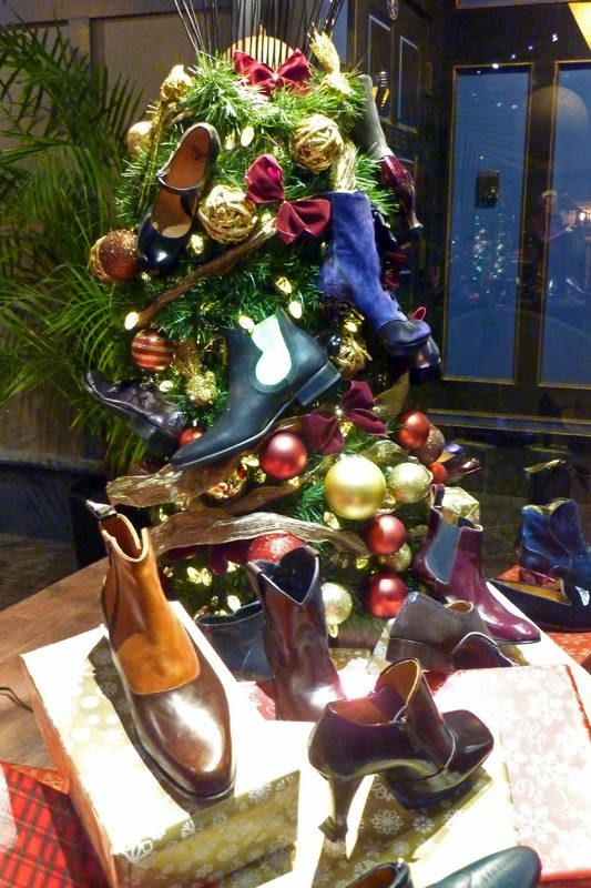 Christmas Shoe Tree.John Fluevog Shoes And Smoc Society For Museum Of Original
