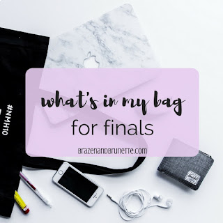 what to bring to your finals. day before finals. last day study schedule. studying for finals in law school. law school finals. law school studying. law student studying. law school exams. law school tests. law school blog. law student blogger | brazenandbrunette.com | brazenandbrunette.com