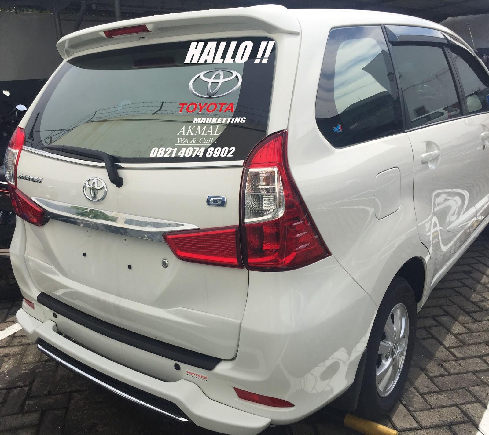 Bemper Depan Grand New Avanza Veloz All Camry 2017 Indonesia Harga Toyota Jemursari Surabaya