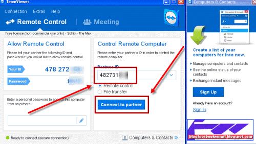 Download Dan Tutorial Menggunakan Teamviewer / Remote Dekstop 2