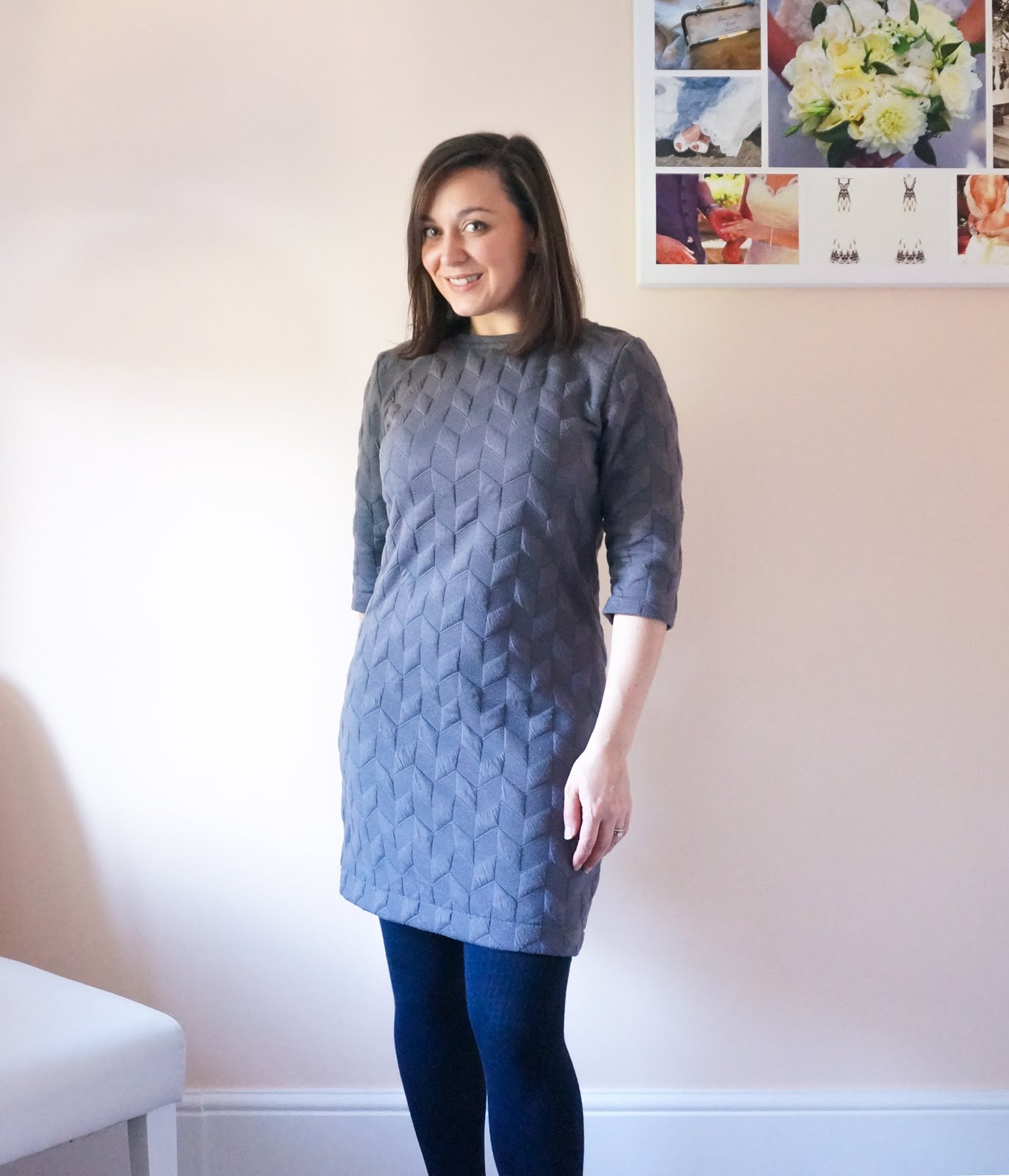 Pattern review of the Seamwork Mesa dress, with long sleeve alteration.