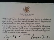 Get A Free Congratulations Letter From The White House Queensnycmom