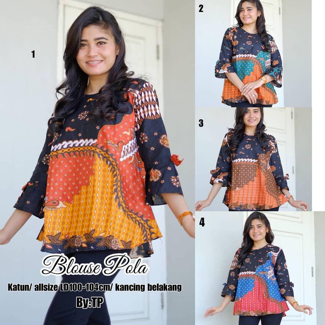 24 Model Terbaru Model Tunik Batik Terbaru 2019