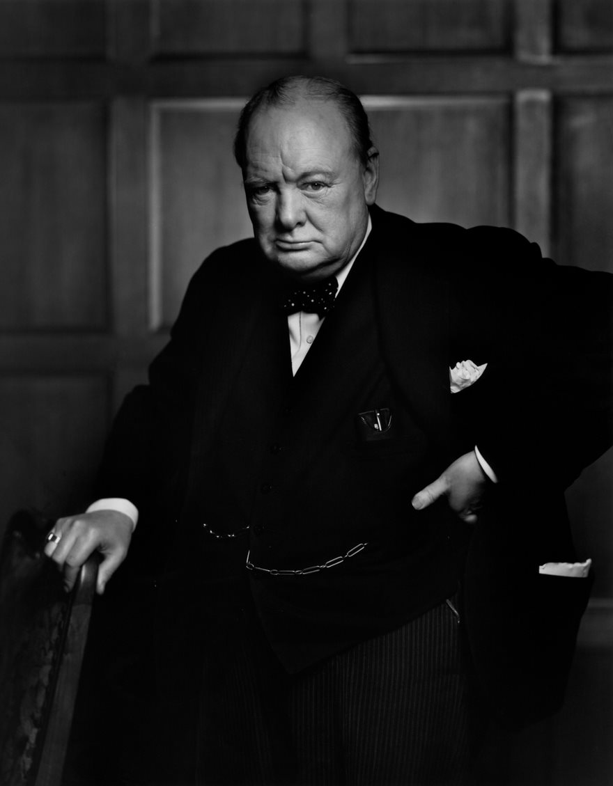 #63 Winston Churchill, Yousuf Karsh, 1941 - Top 100 Of The Most Influential Photos Of All Time