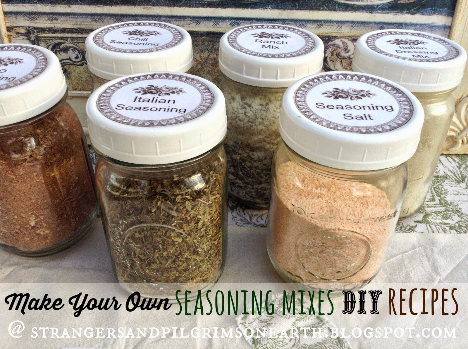 Make Your Own Seasoning Mixes DIY Kit