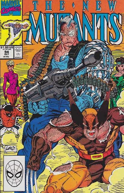 Portada del cómic 'The New Mutants'