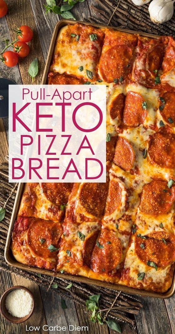 Keto Pizza Bread