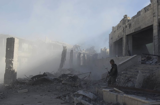 US-backed Syrian forces out IS