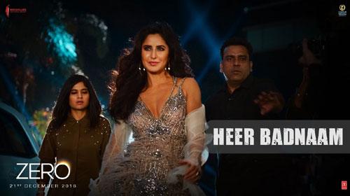 Heer Badnaam Lyrics | Zero | Katrina Kaif |