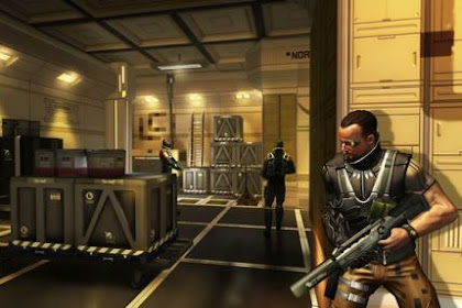 Download Game DEUS EX: THE FALL APK + OBB