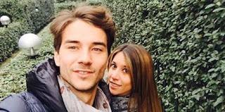 Luca Viganò papà con Fernanda