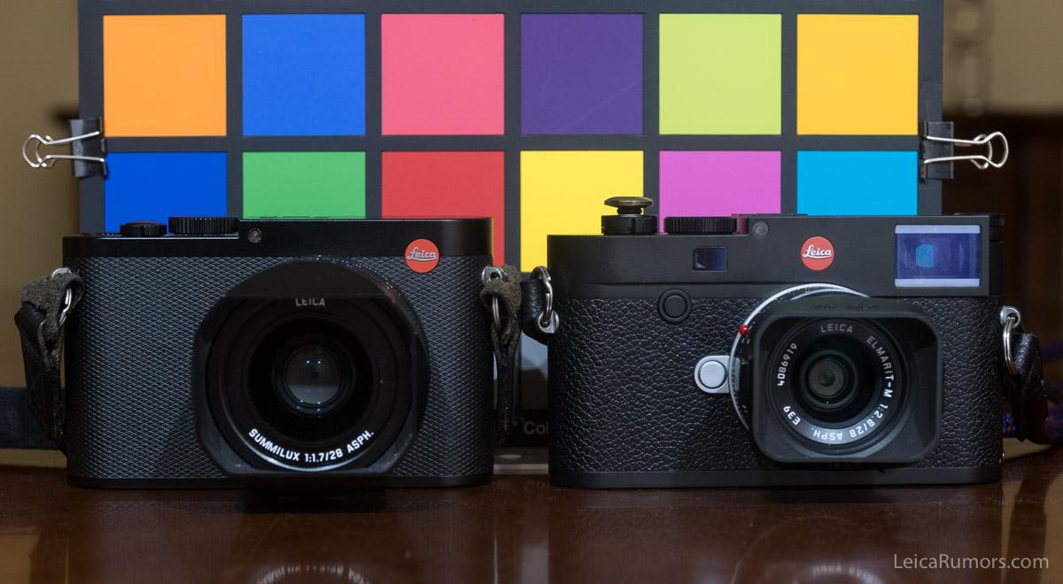 Сравнение Leica Q и Leica M10