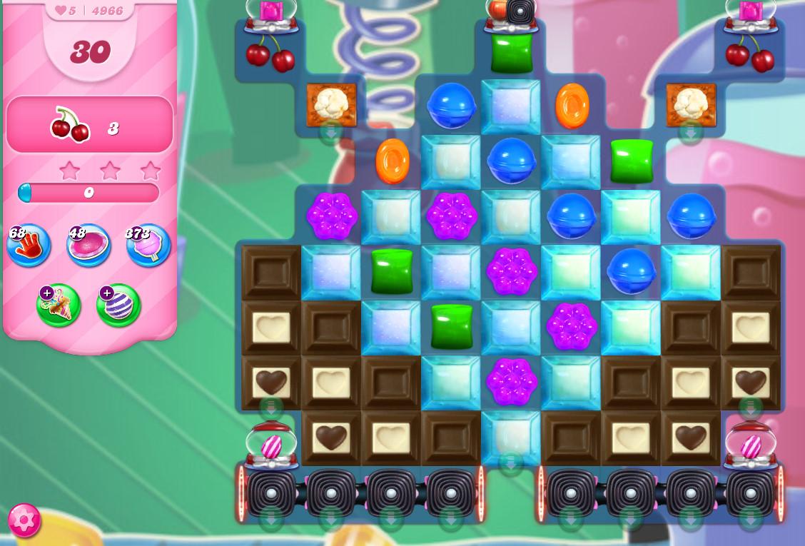 Candy Crush Saga level 4966