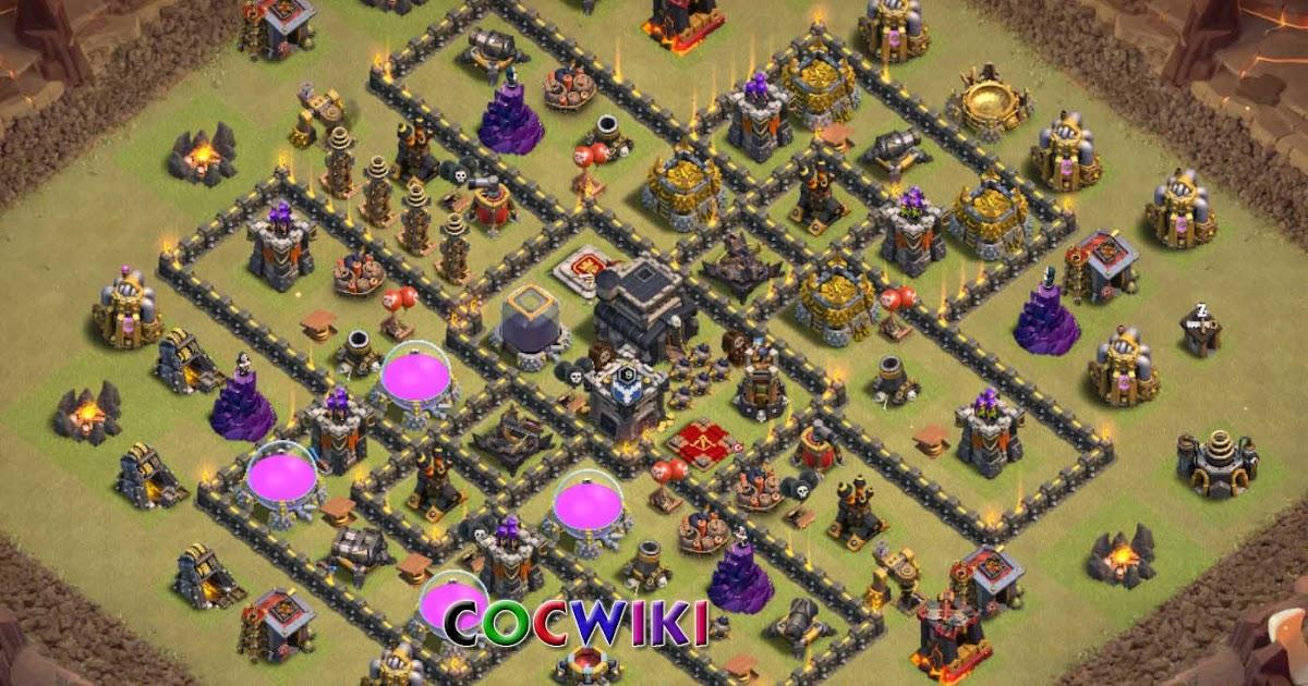 clash of clans th 9 war base
