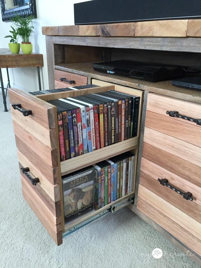 Reclaimed Wood Media Console, MyLove2Create