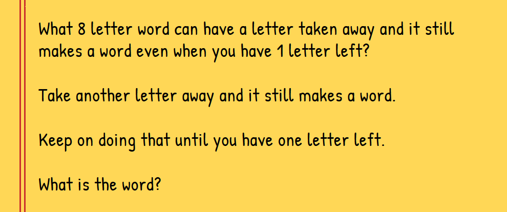 Riddle Of The Day Only The Few Smart People On Nl Can Get This