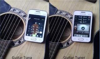 Stem Gitar Mudah Dengan Aplikasi Android