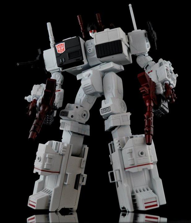 Transformers Custom World Xavier Cal Custom Metroplex