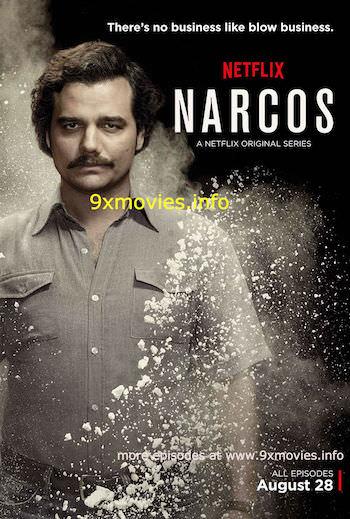 Narcos S02E09 Dual Audio Hindi 720p WEBRip 450mb