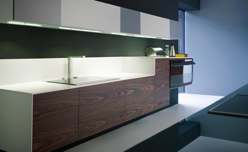 Muebles de cocina suspendidos: ligeros a la vista y ...
