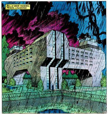 Penjara Fiksi di Komik DC dan Marvel