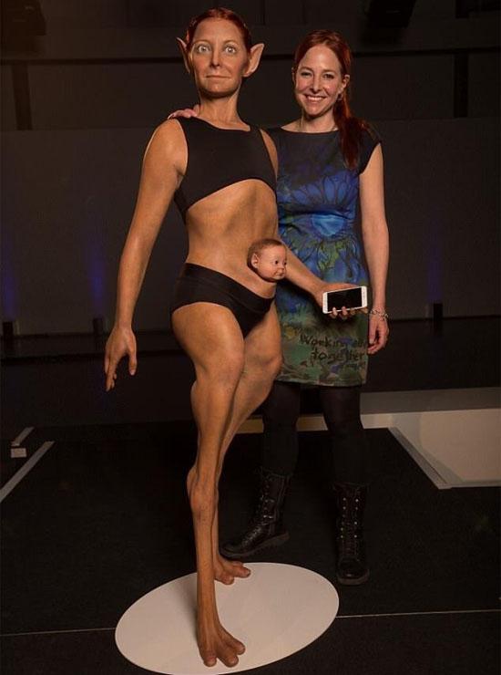 Super-humano perfeito - cientista cria modelo de 'Mulher-Maravilha' revolucionária - Img 1