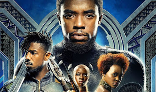 Black Panther Movie Poster Cropped