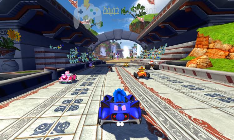 تحميل لعبة Sonic And Sega All Stars Racing للكمبيوتر برابط مباشر