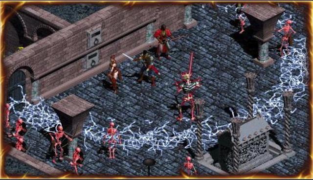 Screenshot from the original Diablo