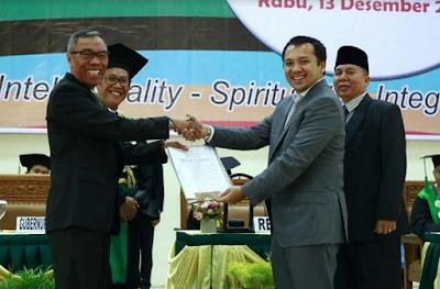 Gubernur Ridho Ficardo Serahkan Hibah Tanah 60 Hektar Kepada UIN Radin Intan Lampung