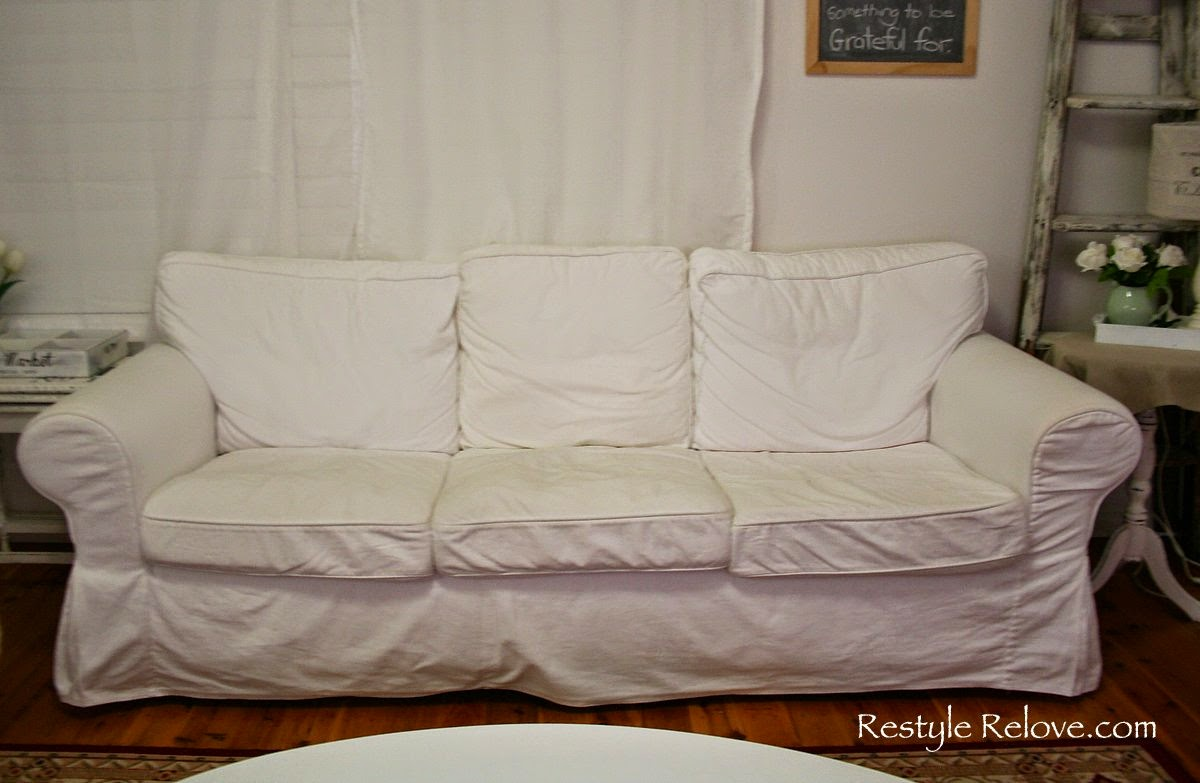 Ikea Chair Cushions Le Corbusier Chairs How To Restuff Ektorp Sofa Cheap Easy And Quick