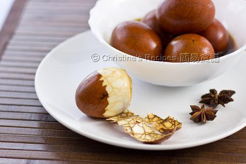 茶葉蛋食譜【傳統美味小吃】 Tea Eggs | 簡易食譜 - 基絲汀: 中西各式家常菜譜