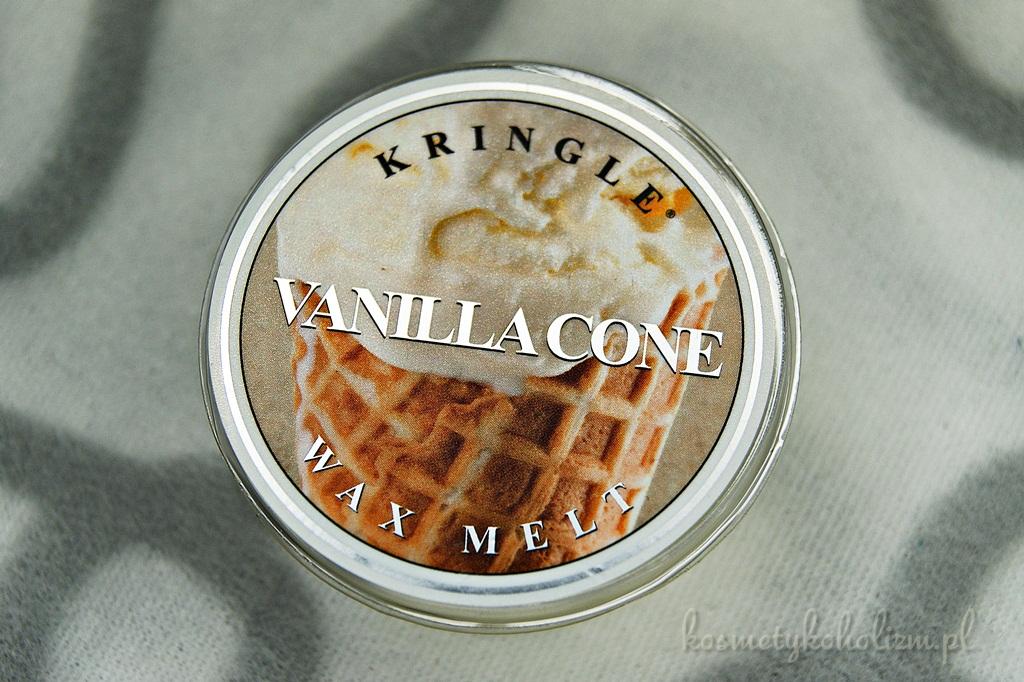 Kringle Candle Vanilla Cone | Świecowa Niedziela