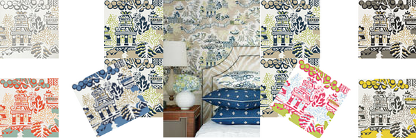 Influenced by Chinese culture, this stunning wallpaper of wide width papers takes a fresh twist on Eastern design with bold colors and striking motifs. The collection features gorgeous designs from eye-catching geometrics and trellis prints to delicate and beautiful floral designs. With such a variety, there is something to suit every taste and perfect for adding a splash of color to your home.