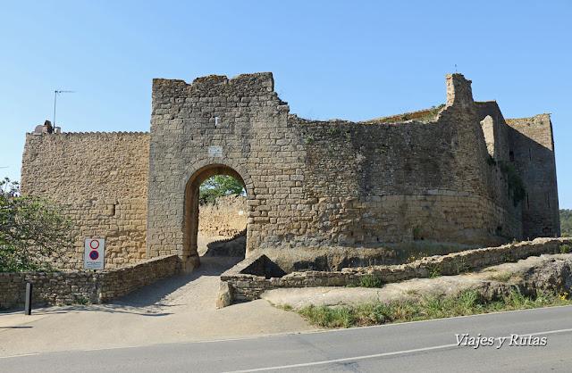 Portal de la Virgen, Peratallada