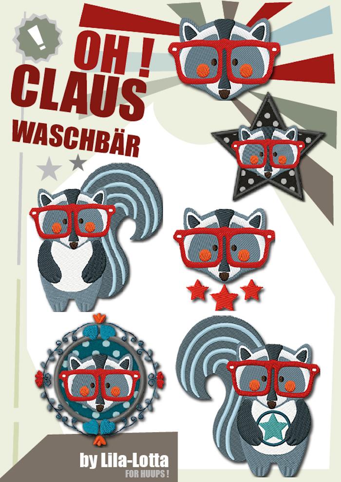 Oh ! Waschbär Claus ! - Lila-Lotta