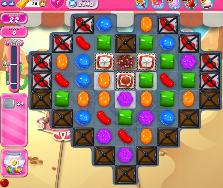 Candy Crush Saga level 2140