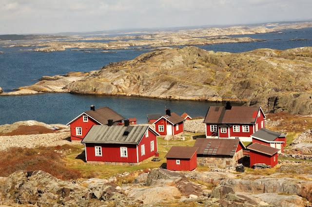 Ursholmen Ruotsi länsirannikko Strömstad