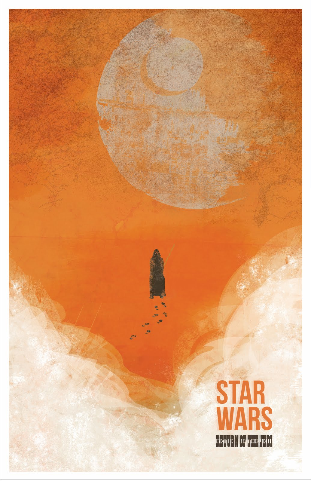 The Geeky Nerfherder: Movie Poster Art: Star Wars: Return Of The Jedi (1983)