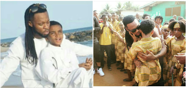 Image result for Flavour opens School for the blind in Liberia (photos)