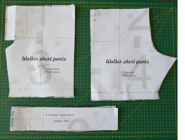Cómo hacer un pantalón corto de niño, patrón gratis ~ Colours for Baby