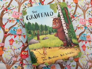 Hardback copy of The Gruffalo