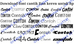 Font android keren ttf only