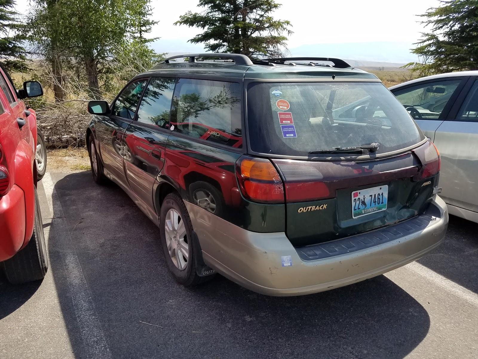1000 Cuts: The Infinite Subaru Wagons of Jackson Hole WY