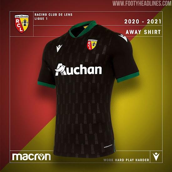 Rc Lens 20 21 Ligue 1 Away Kit Revealed Footy Headlines