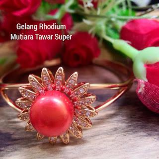 Harga Gelang Rhodium Mutiara Terbaru Lombok Sekarbela