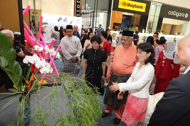 Ikenobo Ikebana at Pavillion Kuala Lumpur